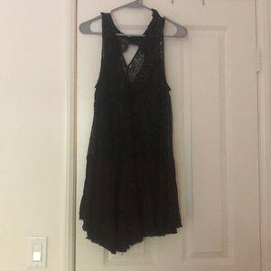 Free People Woman's Black Dress